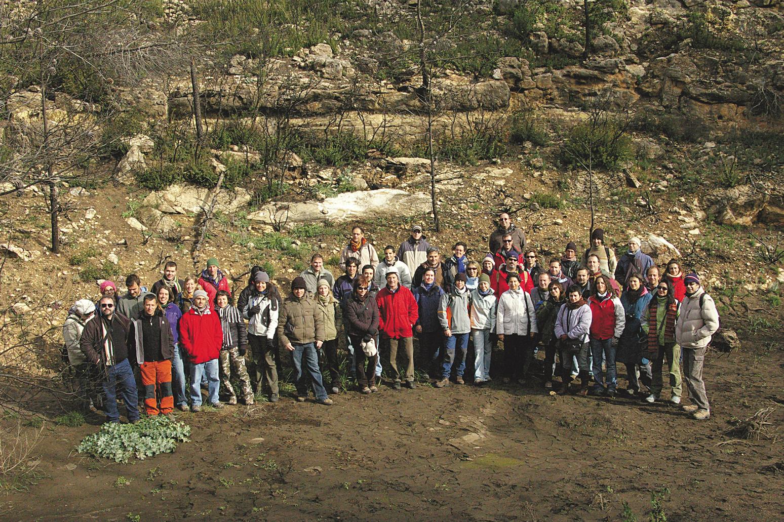 Primera reunión de Fuegored en 2008 en Alicante y Valencia