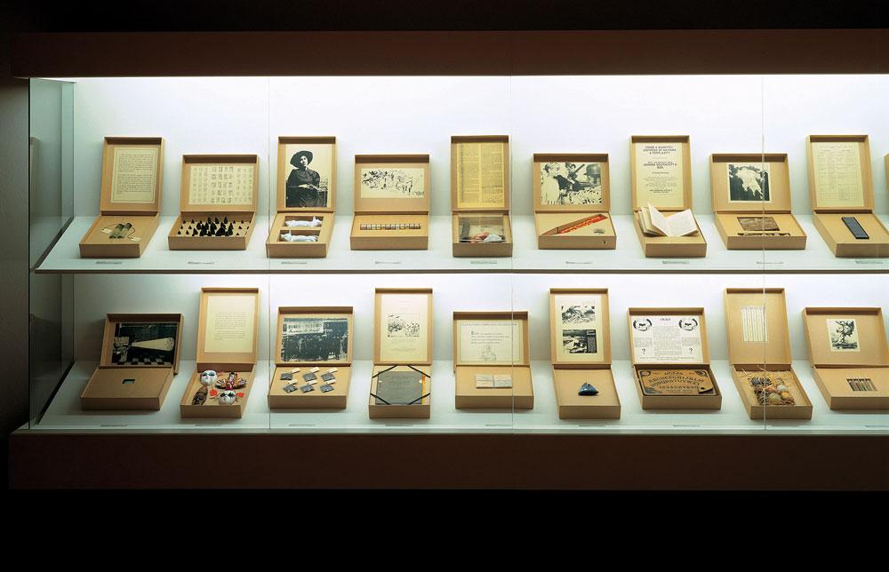 Susan Hiller. Del museo Freud, 1991-1996.