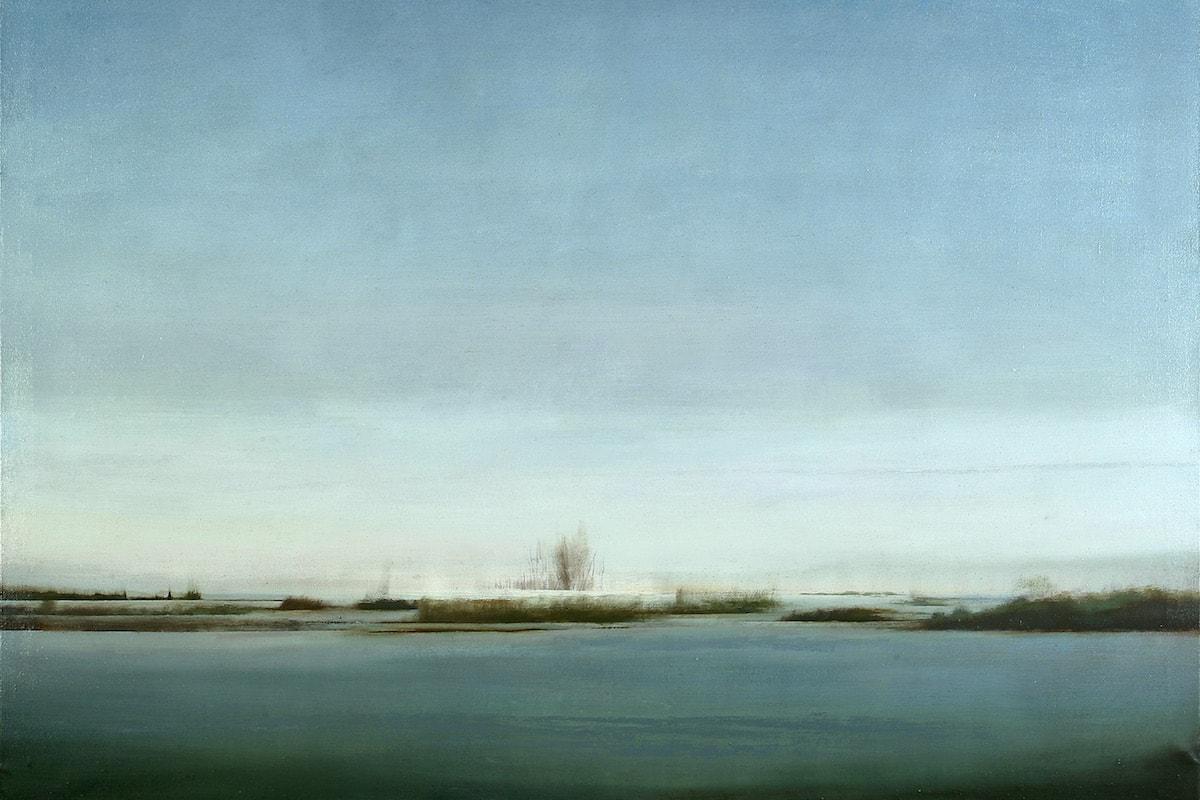 José Saborit. Aproximación a la Albufera. Invierno, 2000
