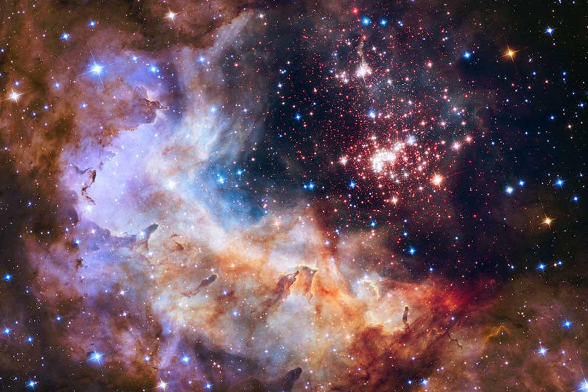 Resultado de imagen de El fondo extragaláctico observado por el Telescopio de rayos gamma Fermi