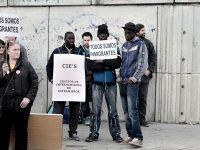 Foto CIE - persones refugiades