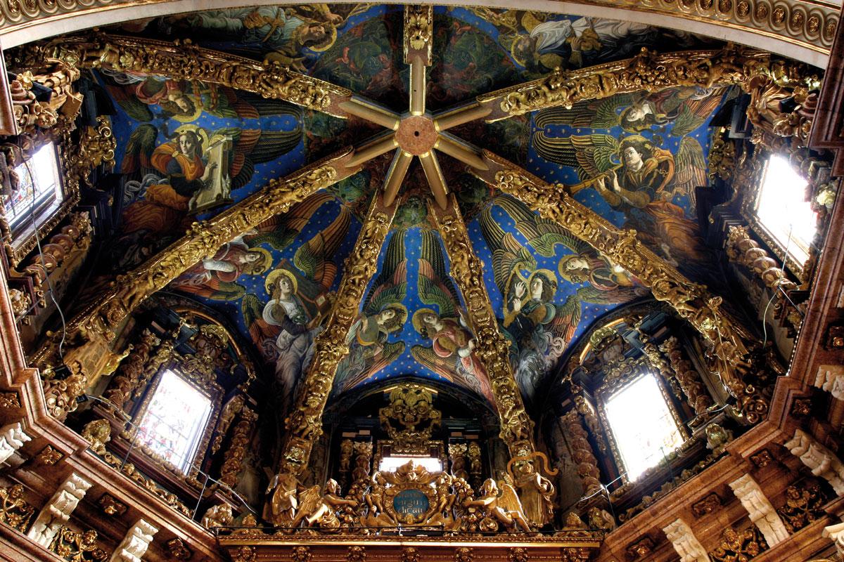 angeles de la catedral de valencia