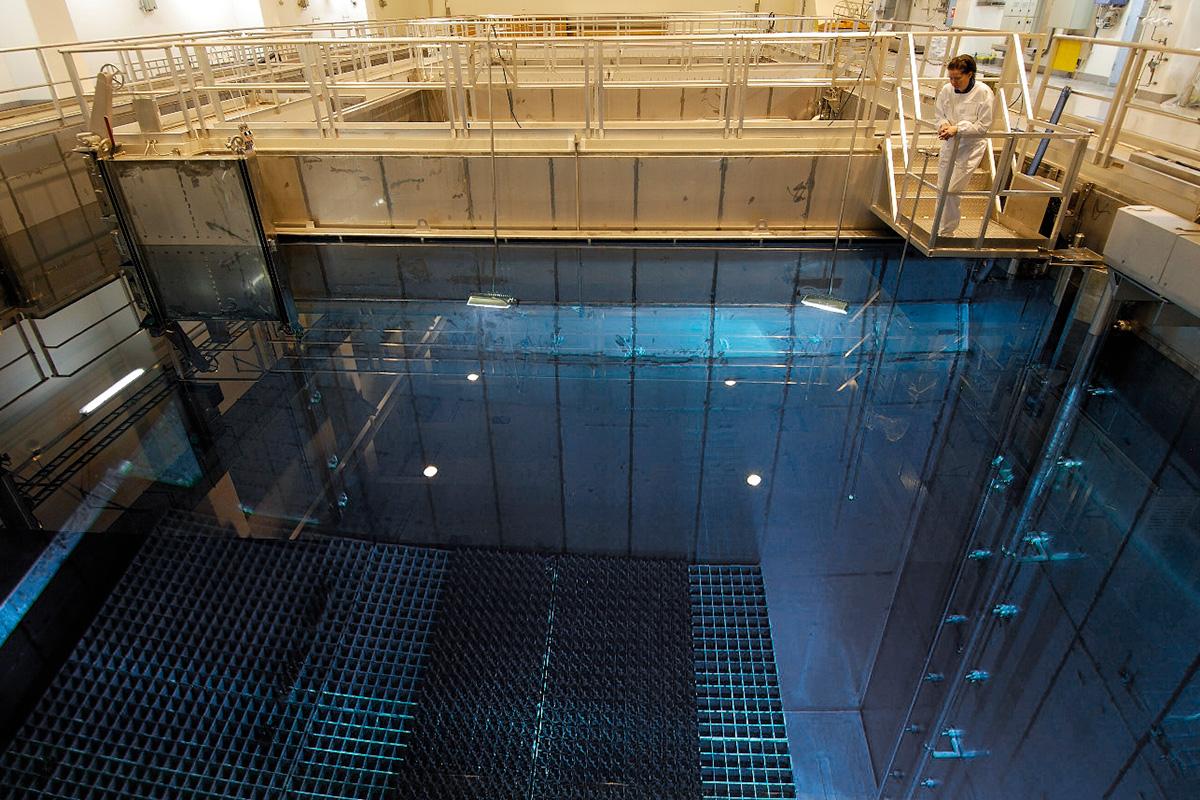 almacén de residuos nucleares