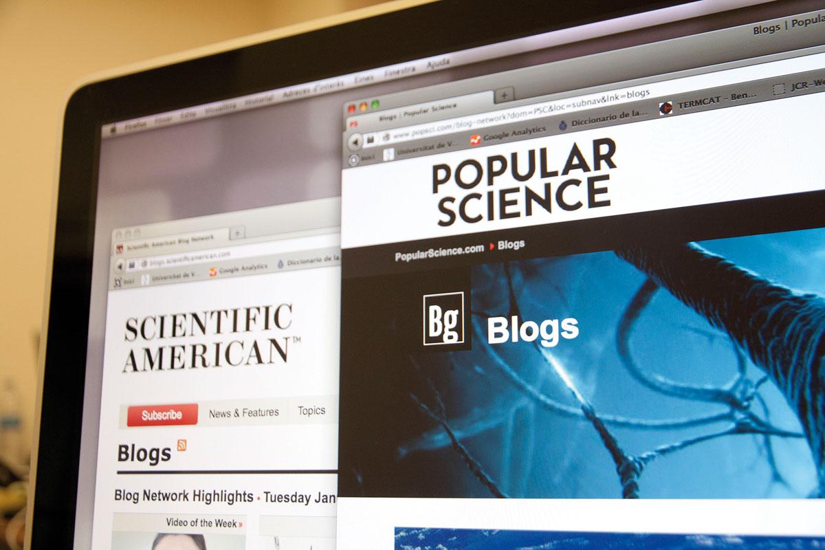 Ciencia, público y nuevos medios