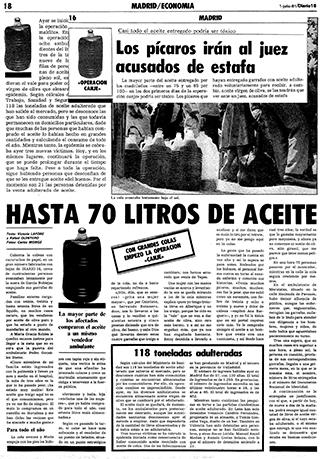 crisis sanitarias aceite de colza
