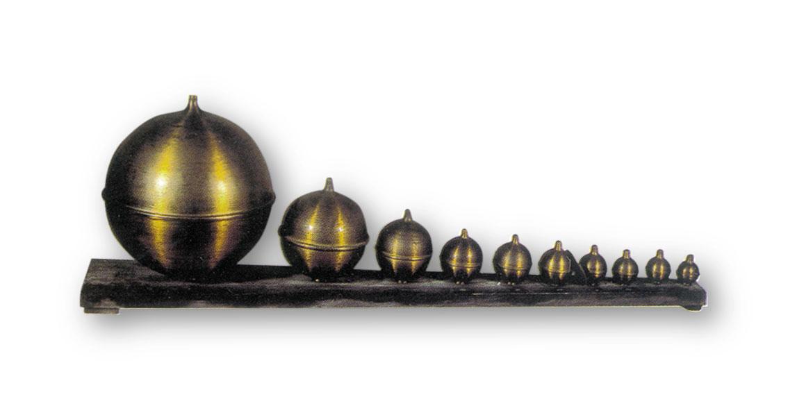 Instrumentos científicos: resonadores de Helmholtz