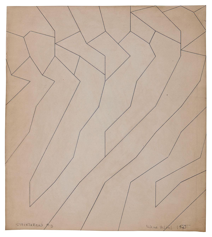 Elena Asins Rodríguez. Estructuras A3, 1975.