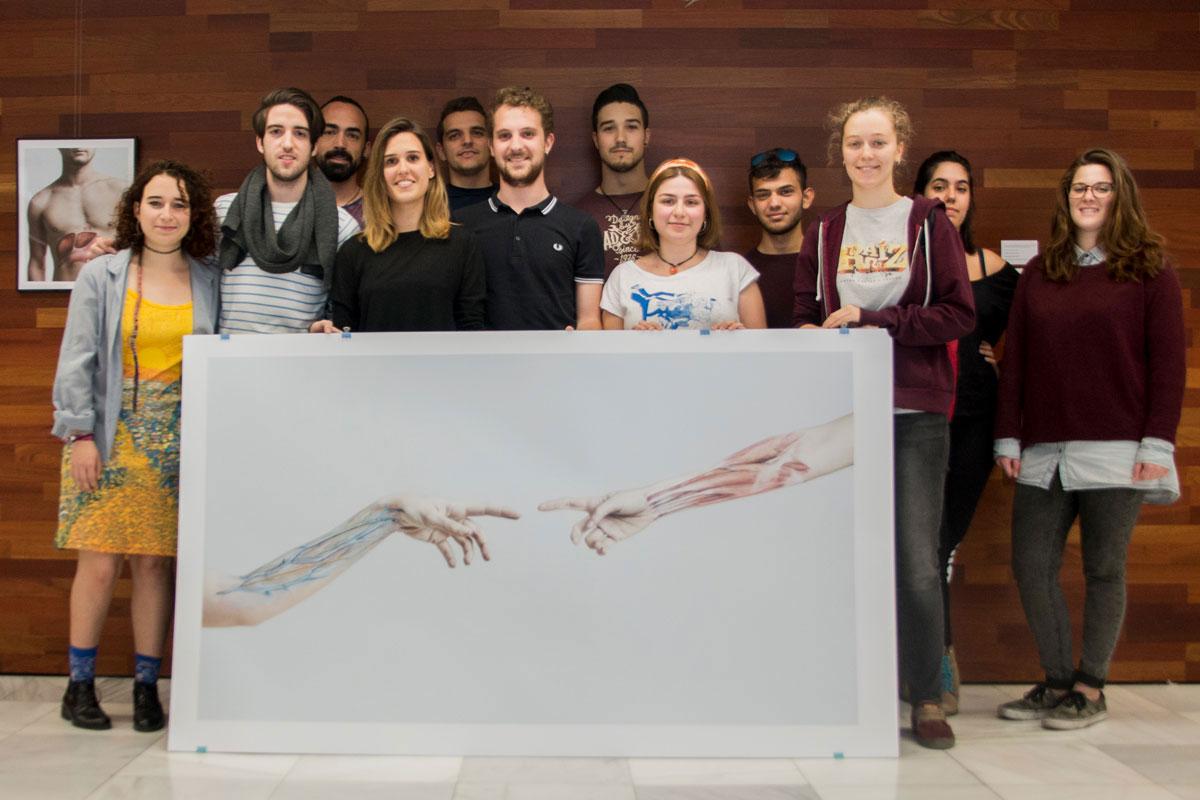 Exposición sobre anatomía humana «BodyPaint Anatómico»