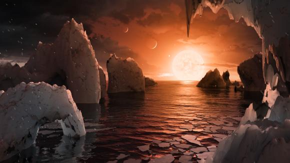 Planeta del sistema Trappist-1