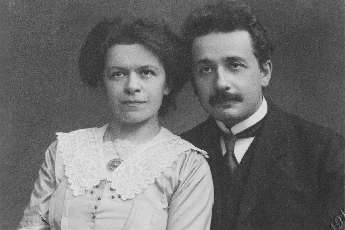 Mileva Maric i Albert Einstein