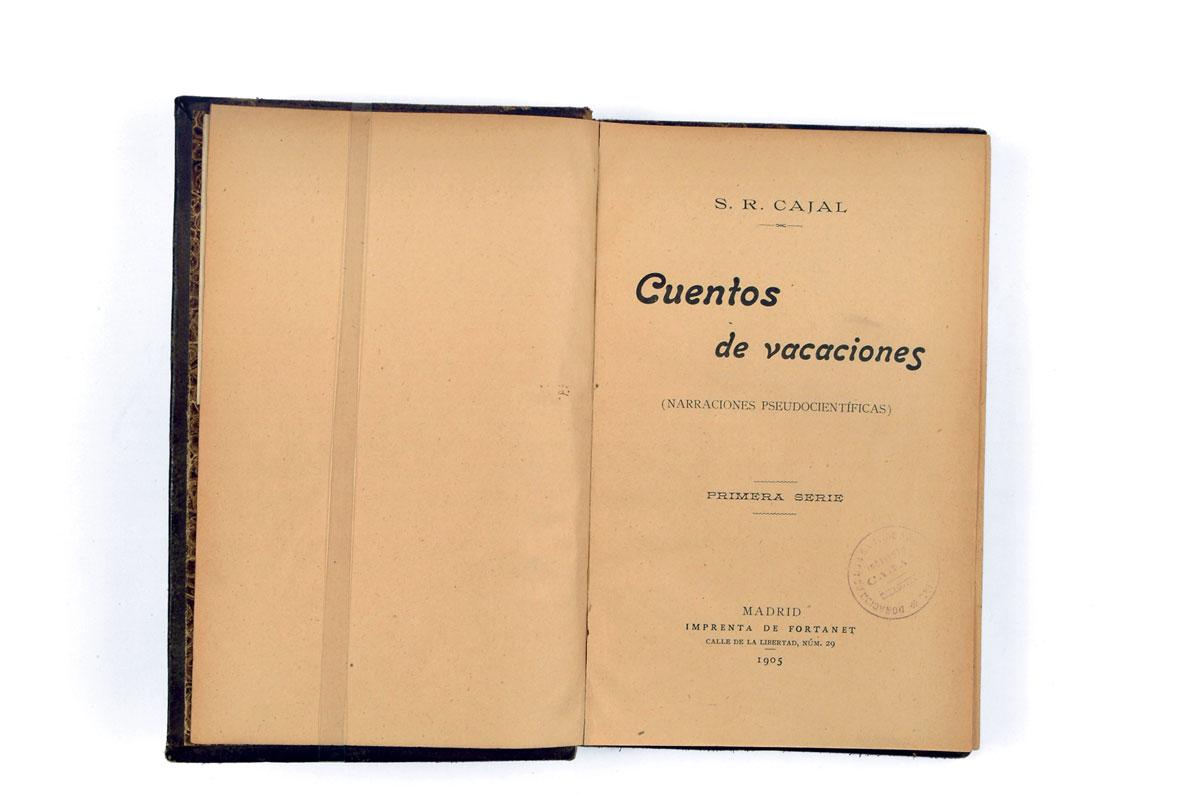 Cuentos de vacaciones de Cajal