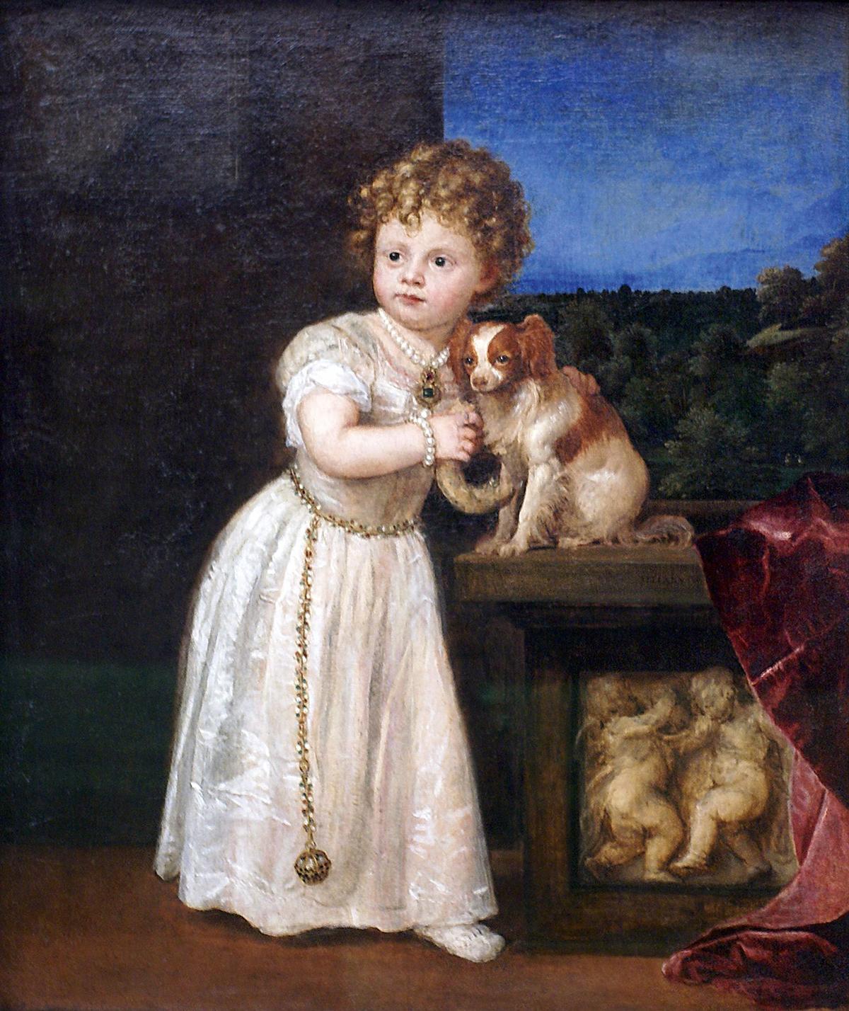 Ticià Retrat de Clarissa Strozzi