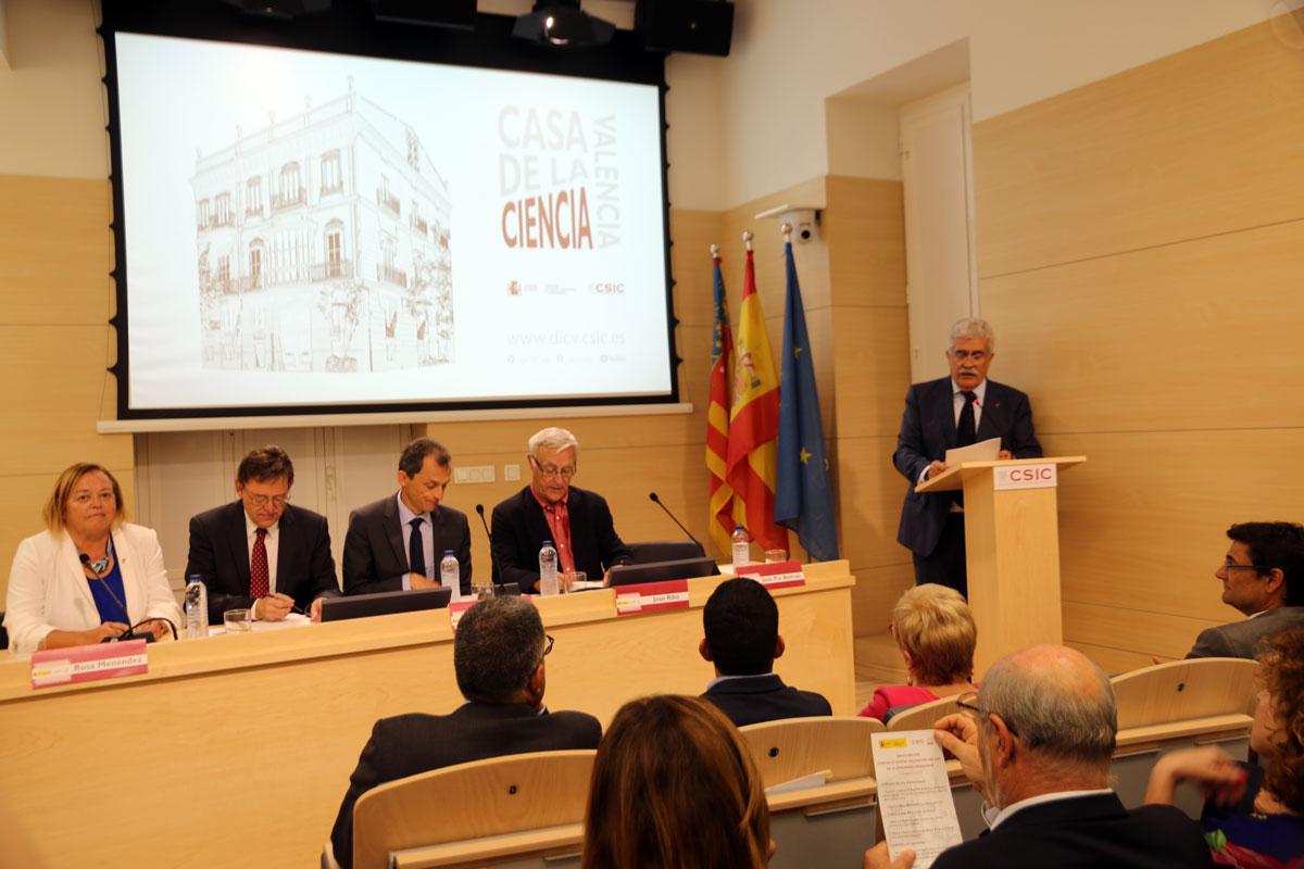 Inauguració de la Casa de la Ciència del CSIC