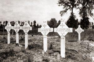 soldados fallecidos durante la Guerra Mundial