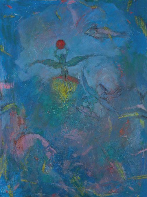 Obra de Monjalés para 'Formas infinitas'