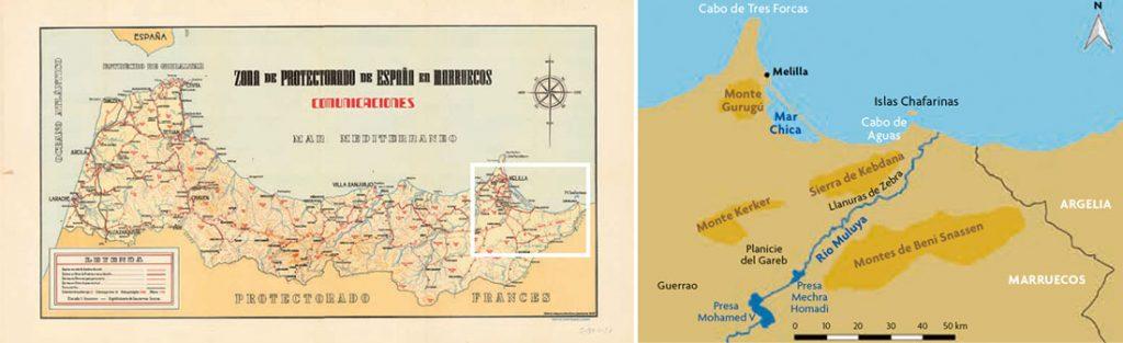 mapas muluya