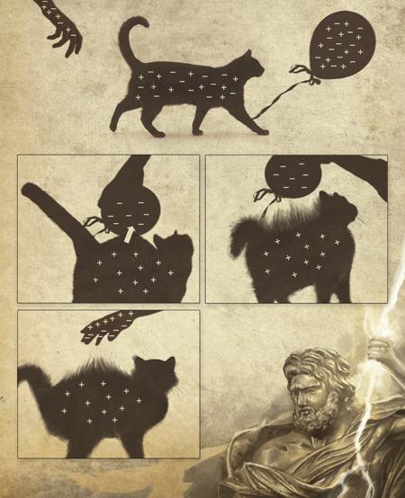 rayos zeus gatos