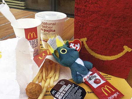 menú infantil Mc