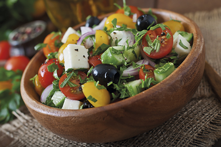 amanida bol dieta mediterrània