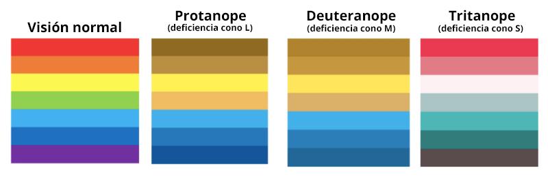 figura 2 simulación visión personas daltónicas