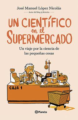 portada un científico en el supermercado