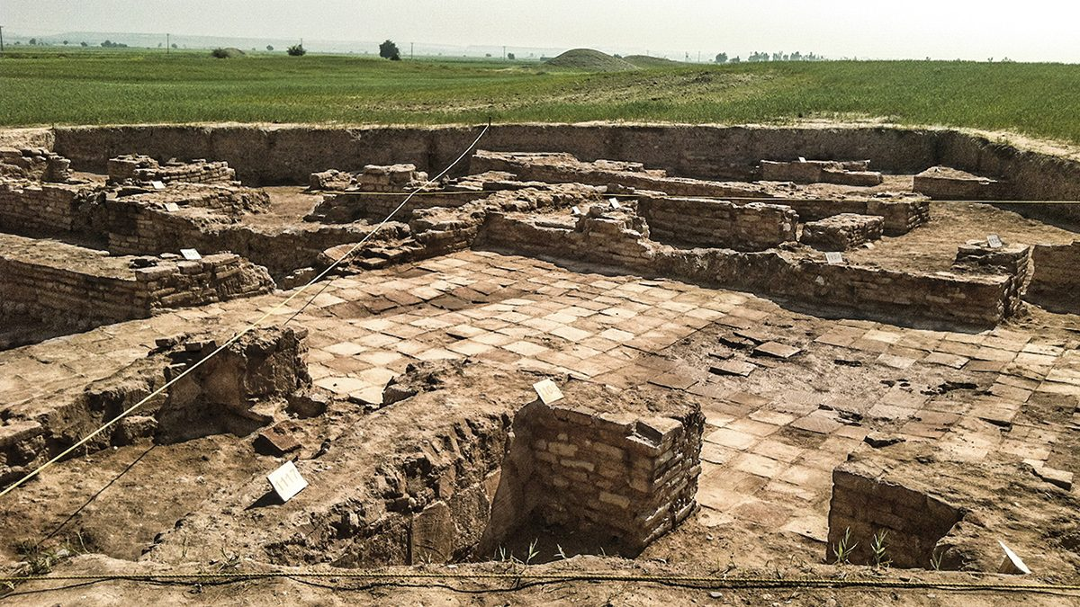 ruinas Gundeshapur