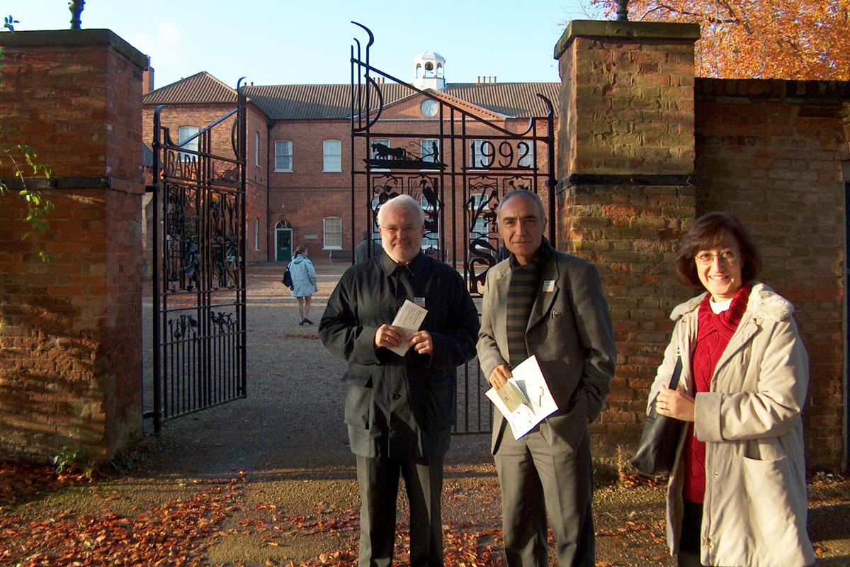 Anglo-Spanish Colloquium celebrat a la Universty of East Anglia (Regne Unit) en 2003, amb Enrique Perdiguero i Josep L Barona