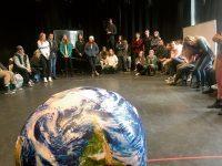 estudiantes universidad comunicaciones climáticas creativas
