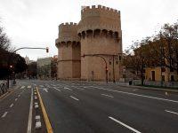imatge València vacía confinamiento COVID-19
